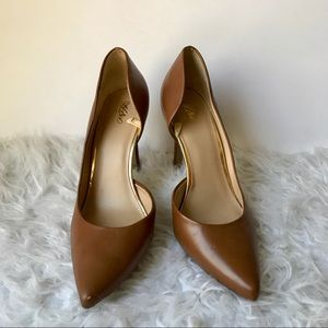 Mossimo Brown Leather Pumps